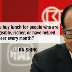 HK Billionaire Shares Secrets On Growing Your Money
