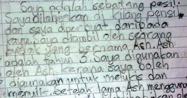 Remember These 8 'Karangans' We Had To Write In School?