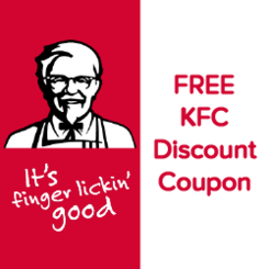 Kfc discount coupon