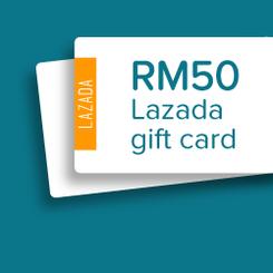 Reward store rm50 lazada gift card